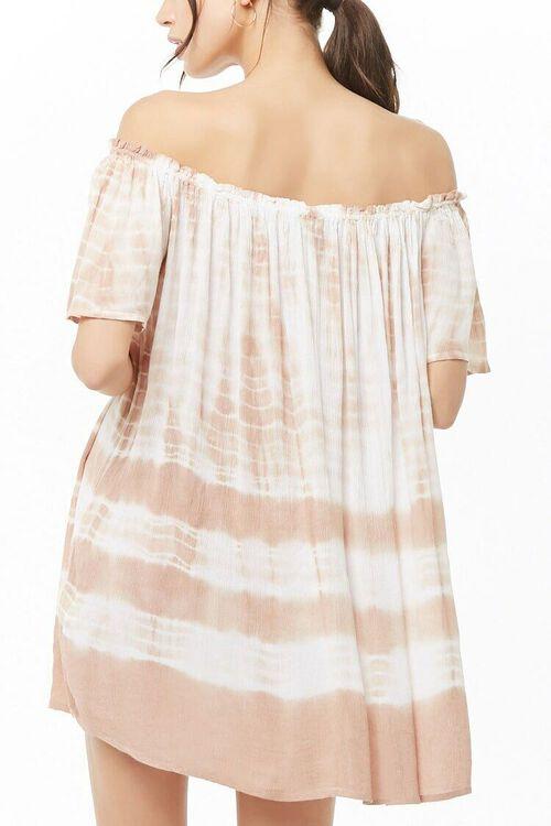 Tie-Dye Off-the-Shoulder Dress, image 3