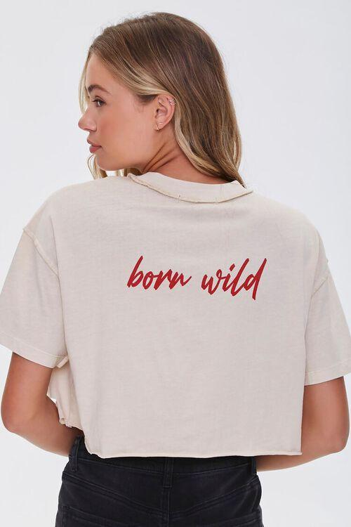 Born Wild Distressed Boxy Tee, image 3