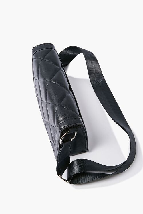 Quilted Grosgrain-Strap Crossbody Bag, image 2