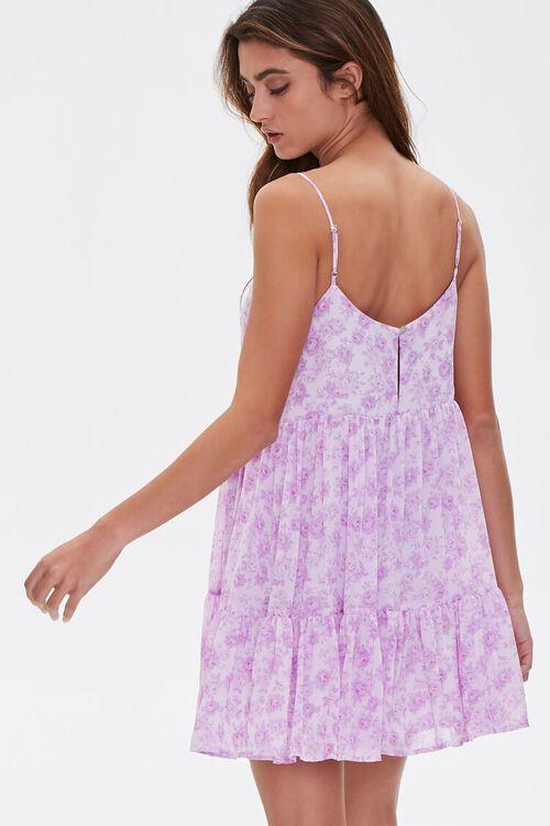 Floral Print Mini Cami Dress, image 3
