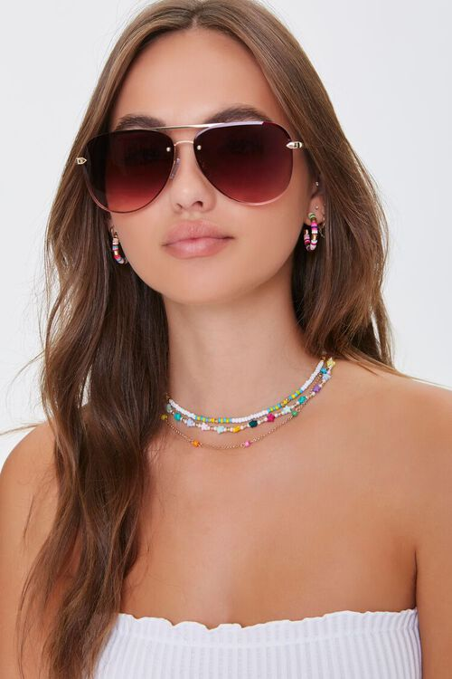 Aviator Gradient Sunglasses, image 1