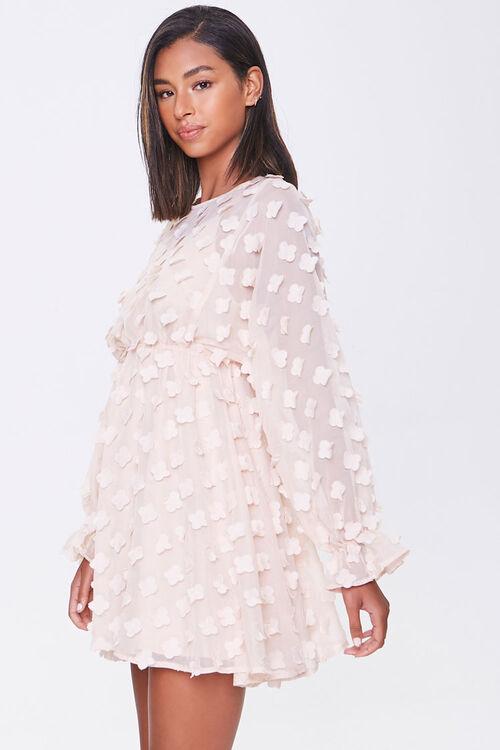 Clover-Embellished Fit & Flare Dress, image 2