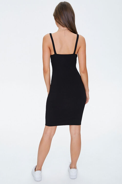 Twist-Front Bodycon Dress, image 3