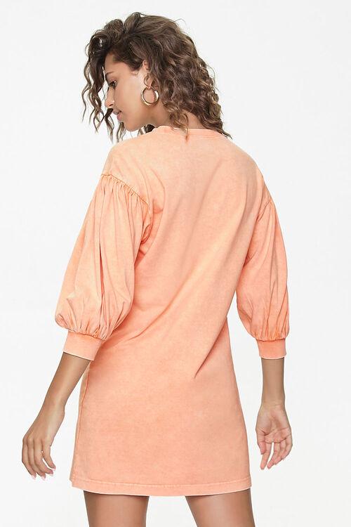 Peasant-Sleeve Mini Dress, image 3