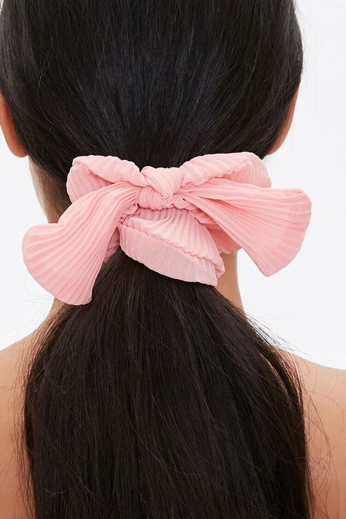 Ribbed Bow Scrunchie, image 2