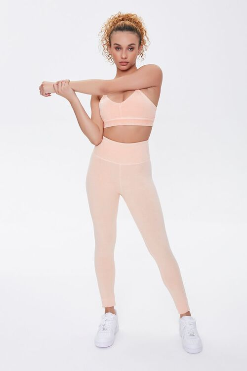 PEACH Active Mineral Wash Leggings, image 1