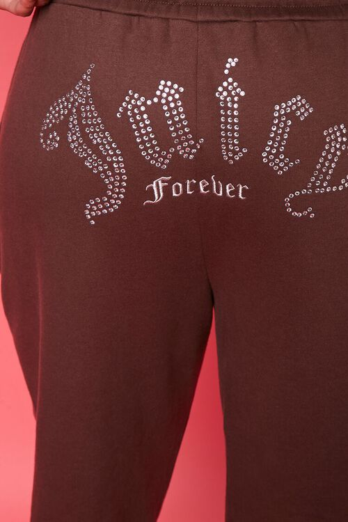 Plus Size Juicy Couture Fleece Joggers, image 2