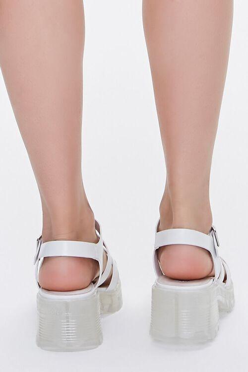 Caged Flatform Block Heels, image 3
