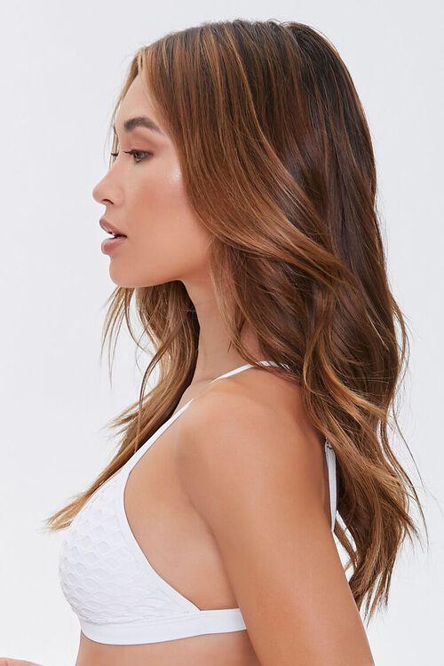 Mesh Triangle Bikini Top, image 2