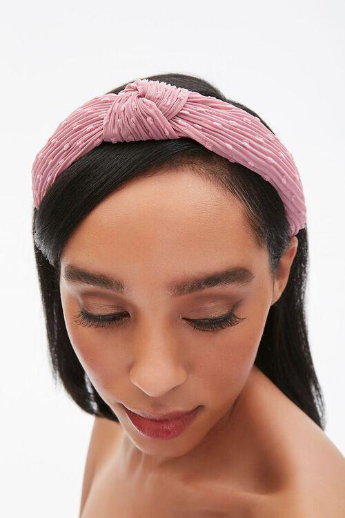 Crinkled Knotted Headband, image 4