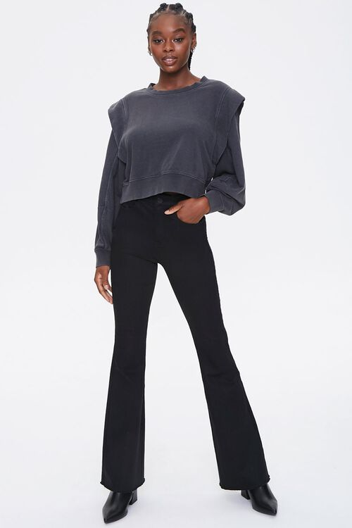 Layered Fleece Sweatshirt, image 4