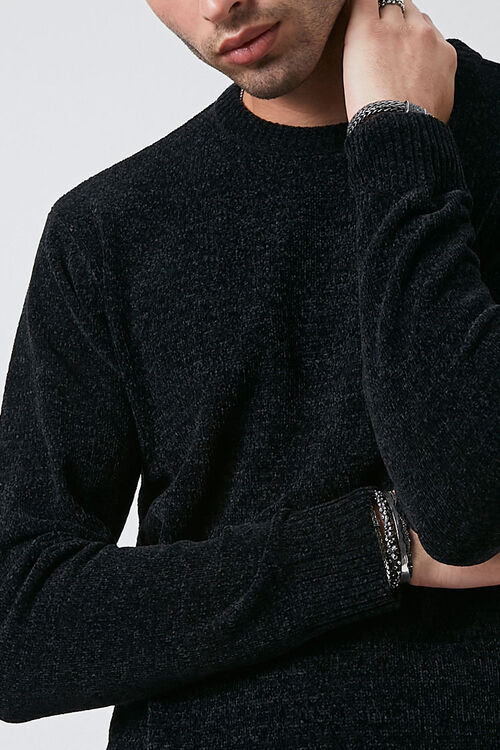Chenille Crew Neck Sweater, image 5