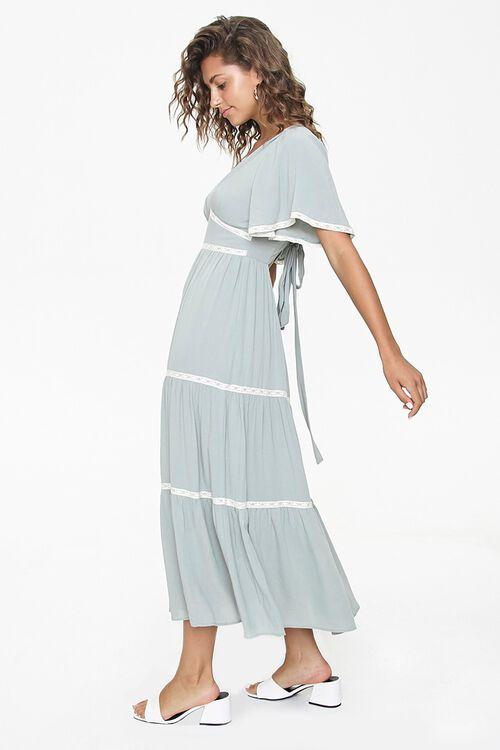 Crochet-Trim Maxi Dress, image 3