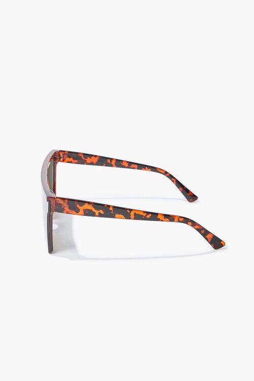 Tortoiseshell Shield Sunglasses, image 4