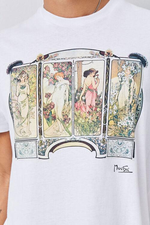 Alphonse Mucha Graphic Tee, image 5