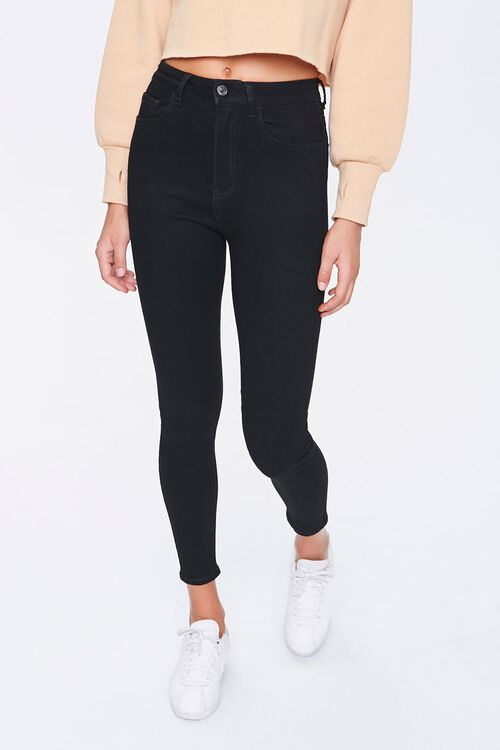 Petite High-Rise Skinny Jeans, image 2