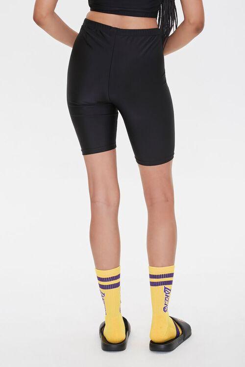 Lakers Graphic Biker Shorts, image 5