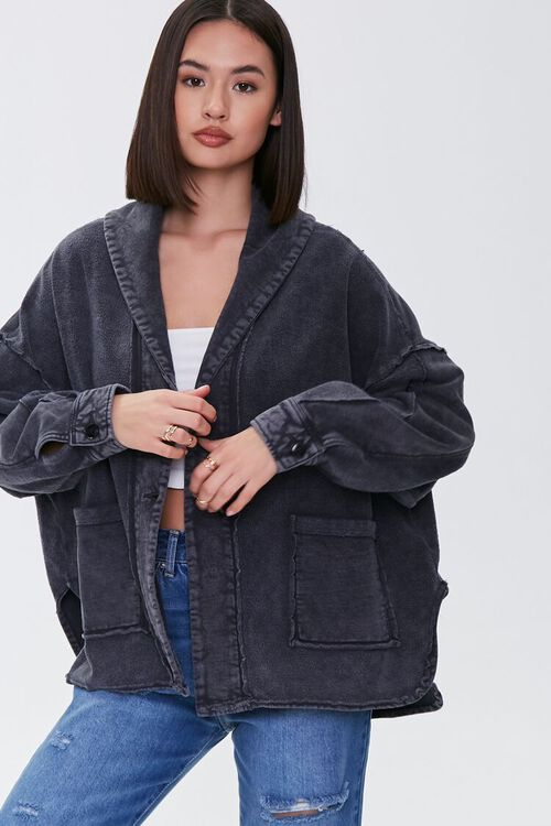High-Low Patch-Pocket Jacket, image 2