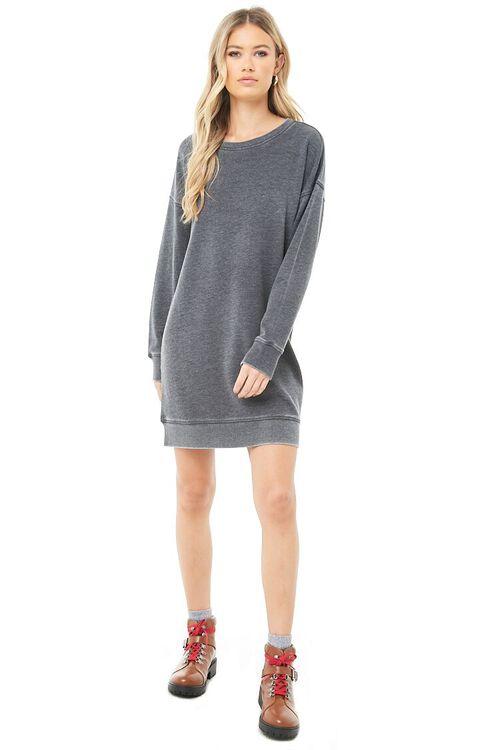 Marled Sweatshirt Dress, image 4