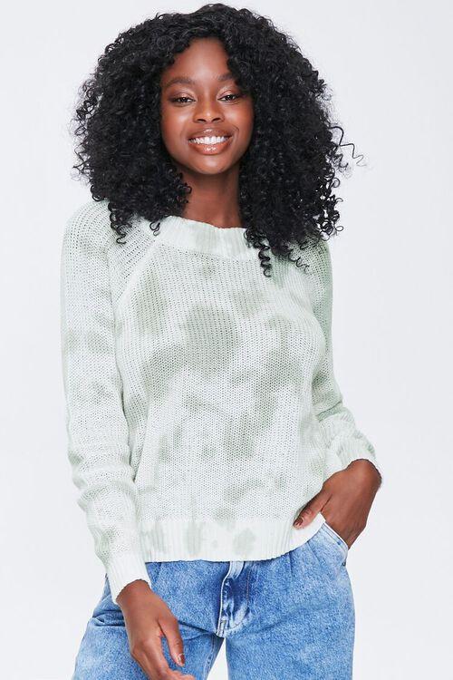 Cloud Wash Open-Knit Sweater, image 1