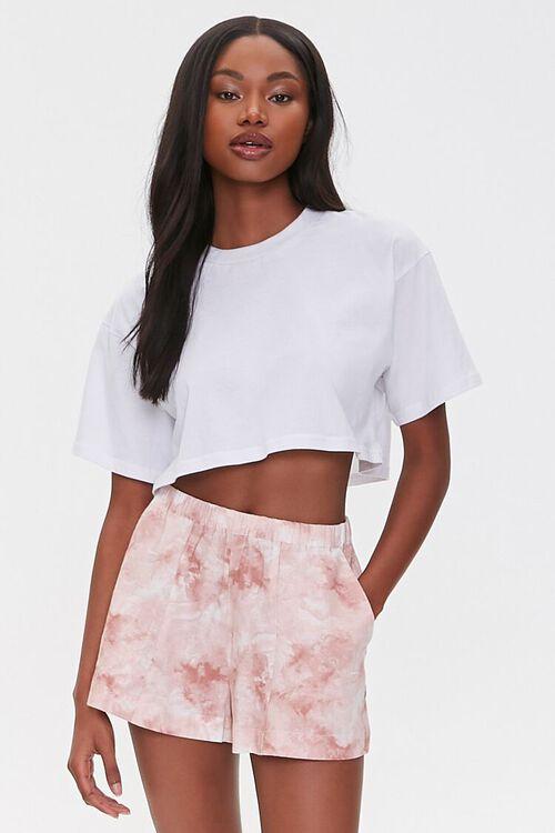 Tie-Dye Wash Shorts, image 1