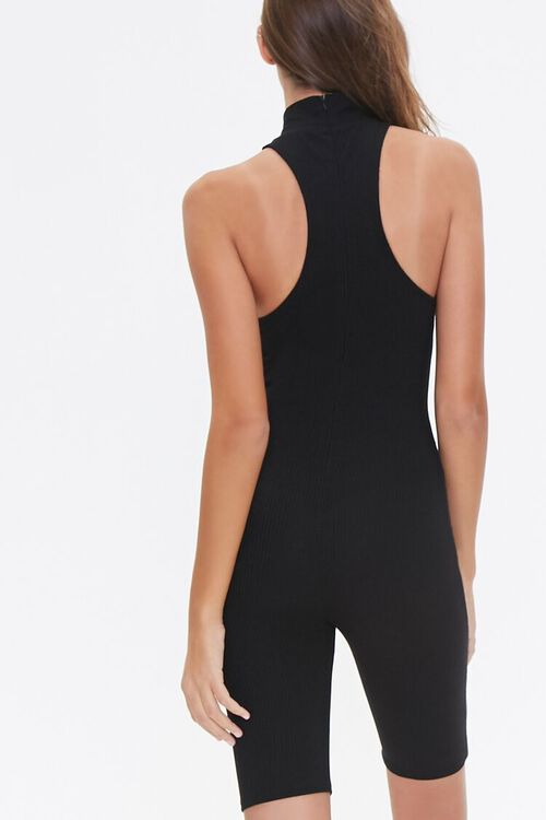 Fitted Racerback Romper, image 4