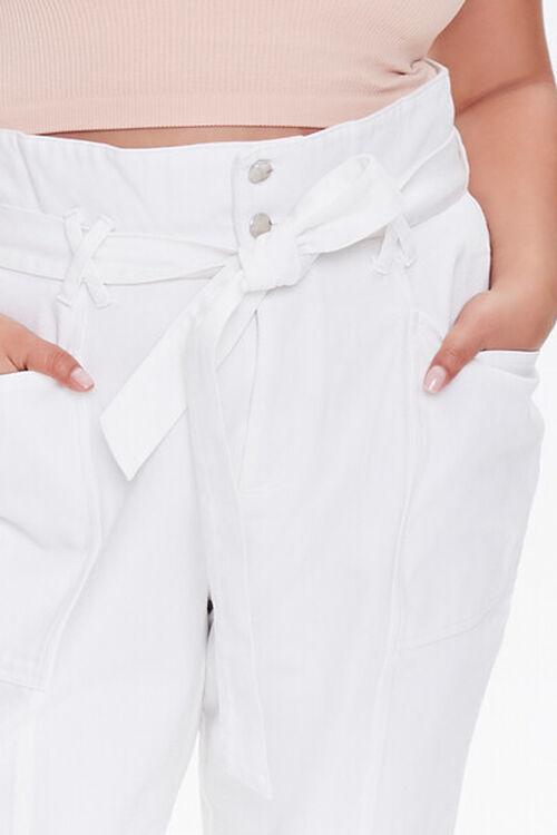 Plus Size Paperbag Jeans, image 5