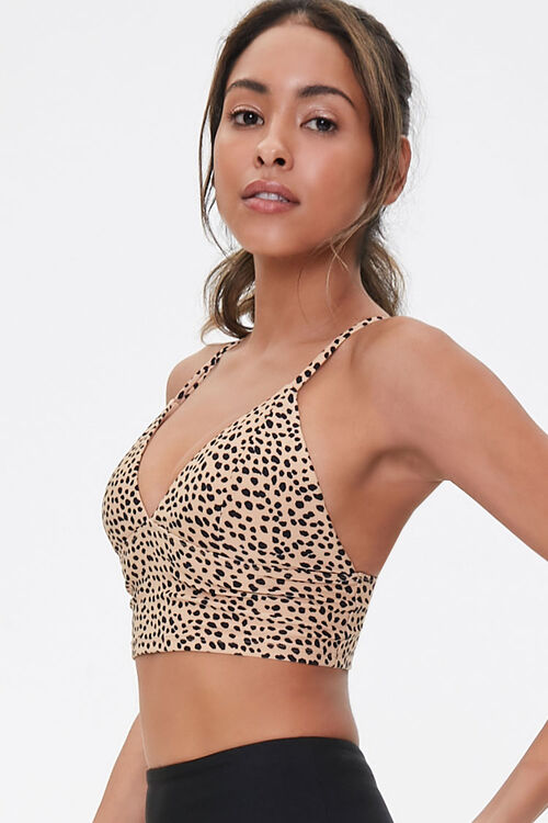 Low Impact - Cheetah Print Sports Bra, image 2