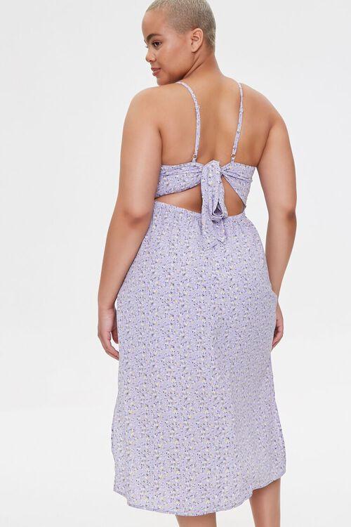 Plus Size Floral Cami Midi Dress, image 4