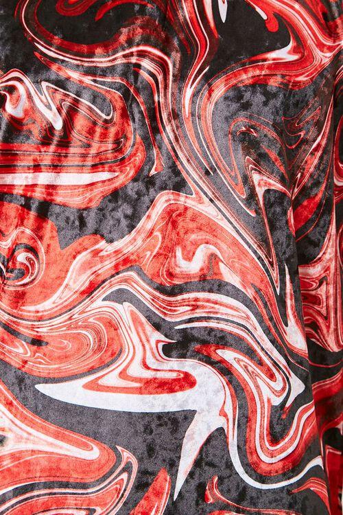 Velvet Abstract Swirl Print Tee, image 5