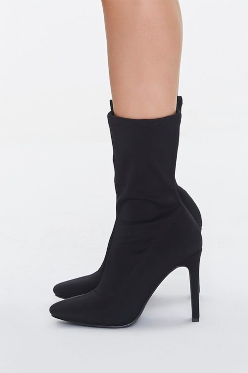 Faux Suede Slouchy Booties, image 2