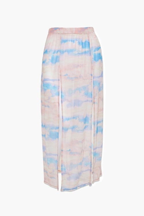 Plus Size Cloud Wash Mesh Skirt, image 1