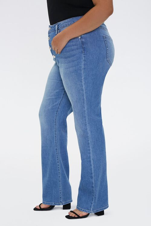 Plus Size Recycled Bootcut Jeans, image 3