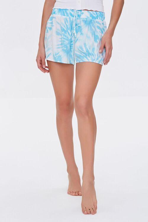 Tie-Dye Drawstring Lounge Shorts, image 2