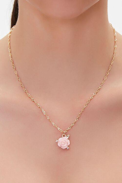 Rose Charm Necklace, image 1