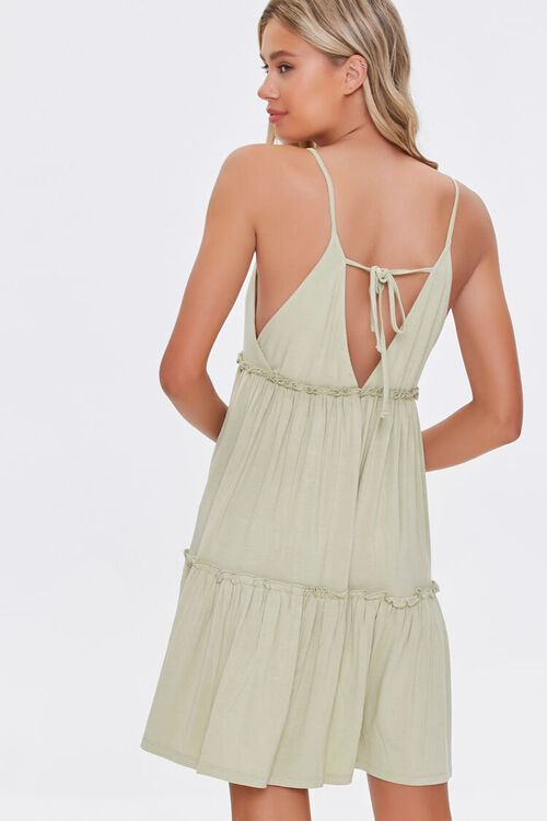 Tiered Fit & Flare Cami Dress, image 3
