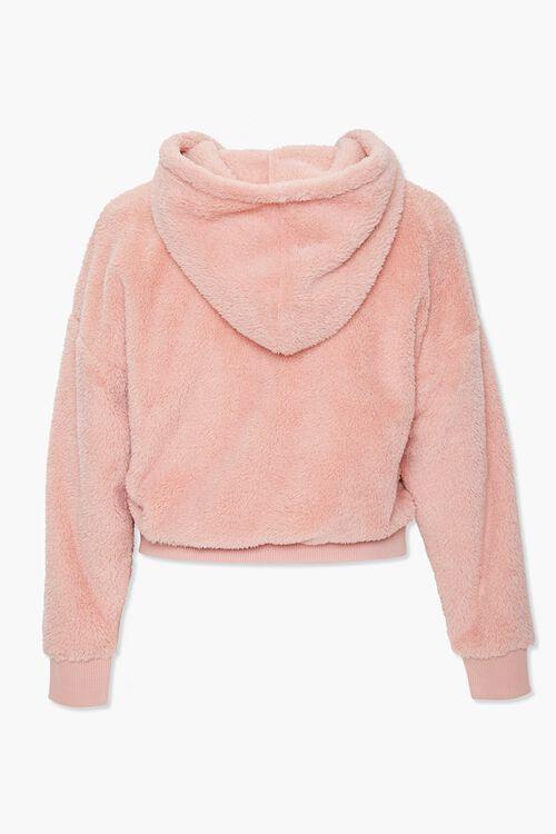 Plus Size Plush Zip-Up Hoodie, image 3