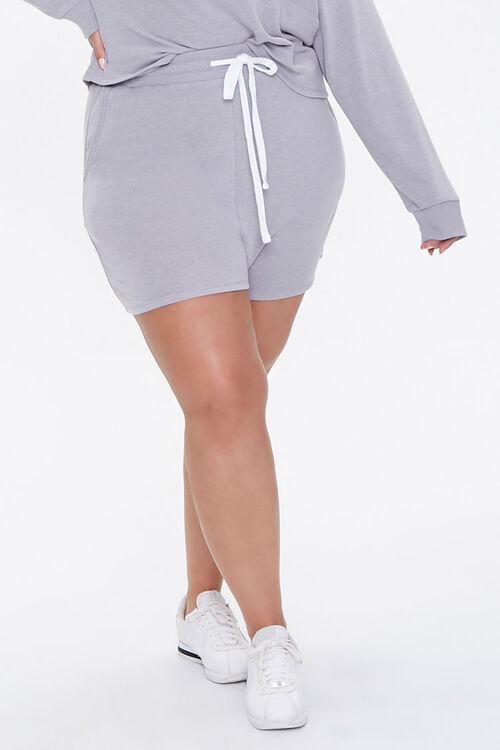 Plus Size Pullover & Shorts Set, image 6