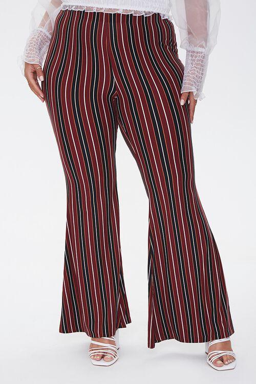 Plus Size Striped Jordyn Pants, image 2