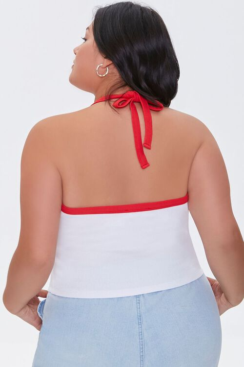Plus Size Over It Halter Top, image 3
