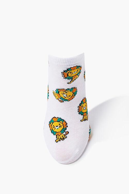 Lion Graphic Ankle Socks, image 3