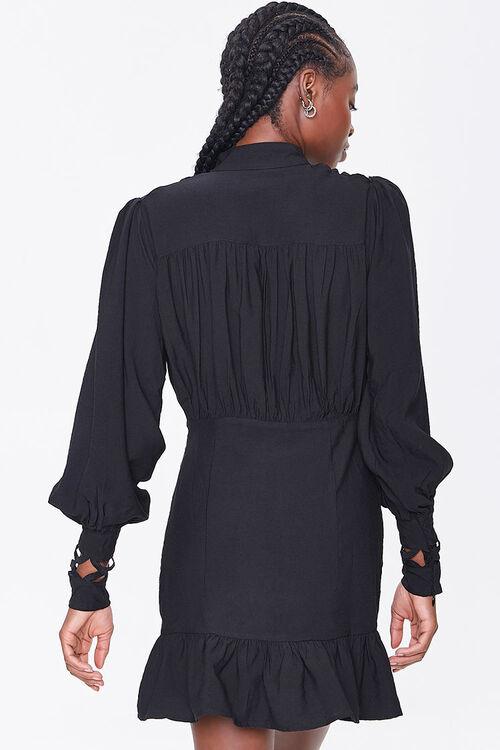 Cutout-Trim Mini Dress, image 3