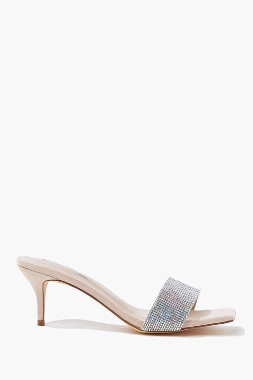 Rhinestone Slip-On Heels, image 1