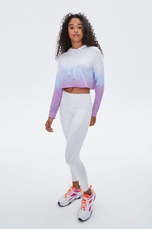 Active Ombre Raw-Cut Hoodie, image 4