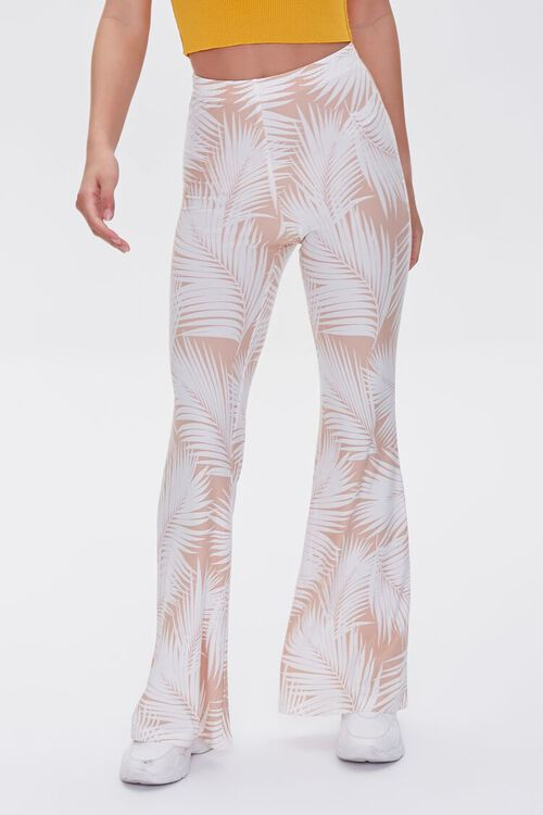 Jordyn Tropical Print Flare Pants, image 2