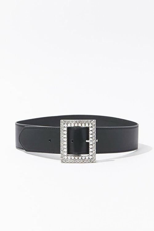 Faux Leather Waist Belt, image 1