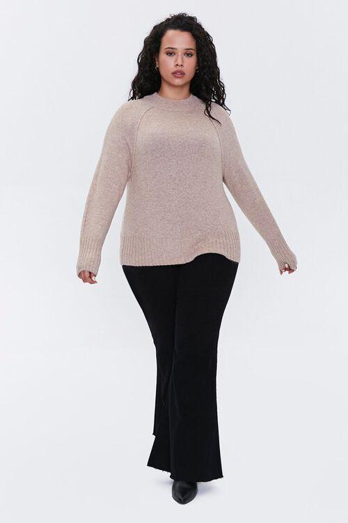Plus Size Raglan Sweater, image 4