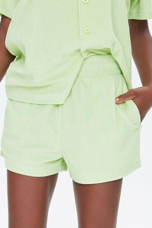 Terry Cloth Shirt & Shorts Set, image 6