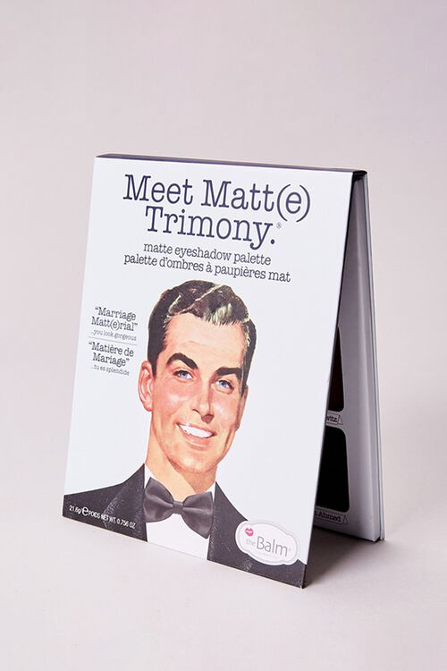 Meet Matte Trimony – Matte Eyeshadow Palette, image 2