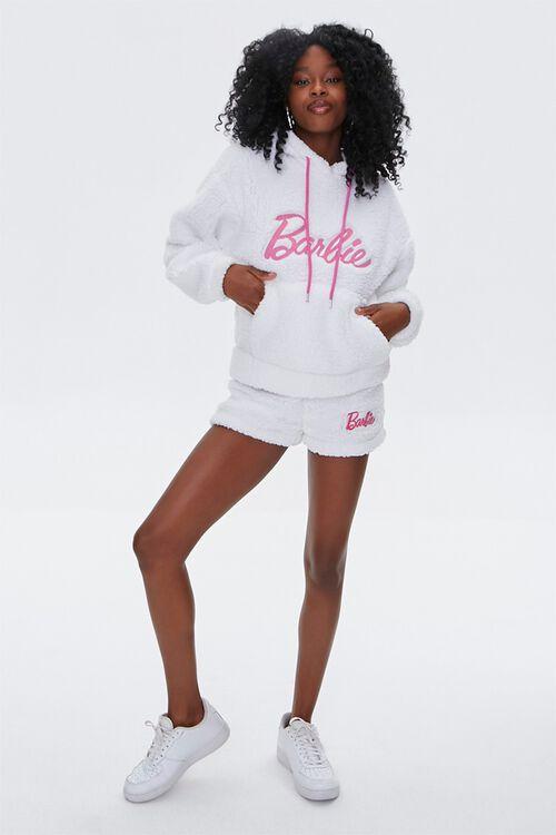 Faux Shearling Barbie™ Shorts, image 5